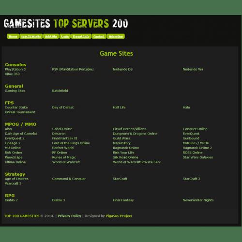 L2GameSites Top Vote Site Script